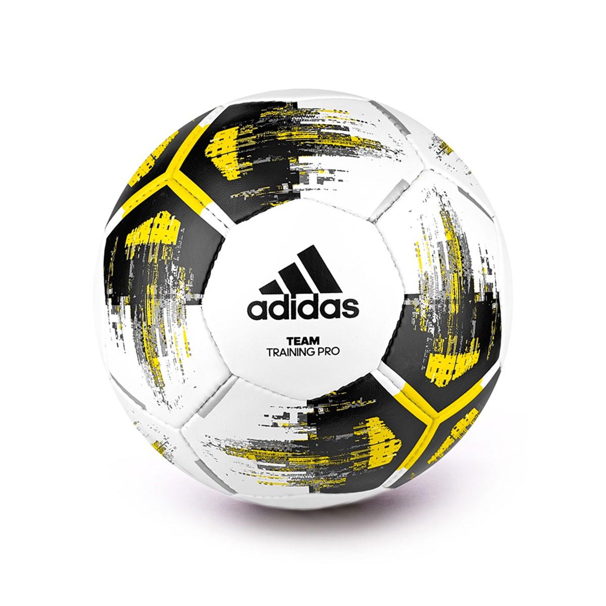 volatilidad arrendamiento embarazada  Ball adidas Team Training Pro White-Yellow-Black - Football store ...