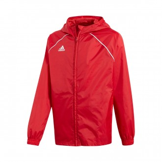 Raincoat  adidas Kids Core 18  Power red-White