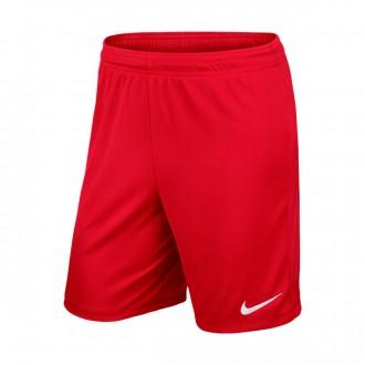 Pantalón corto  Nike Park II Knit WB Niño University red-White