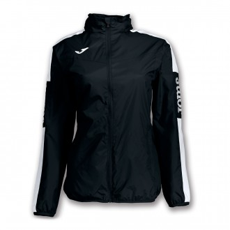 Raincoat  Joma Woman Champion IV  Black-White