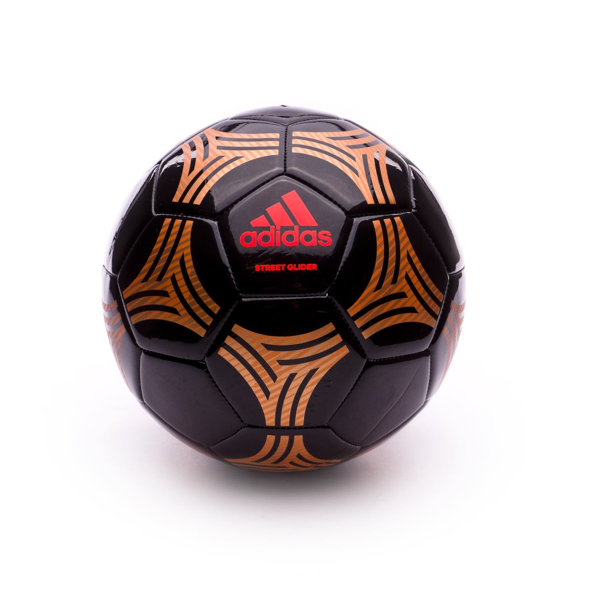 Ball adidas Tango Street Glider Black-Gold-Solar red - Football ... 5913f4cac0530