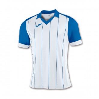 Camiseta  Joma Grada m/c Blanco-Azul royal