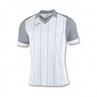 Camiseta  Joma Grada m/c Blanco-Gris