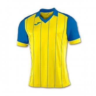 Camiseta  Joma Grada m/c Amarillo-Azul royal