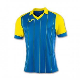 Camiseta  Joma Grada m/c Azul royal-Amarillo