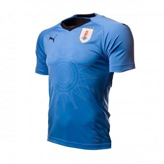 Camiseta  Puma Uruguay Primera Equipación 2017-2018 Silver lake