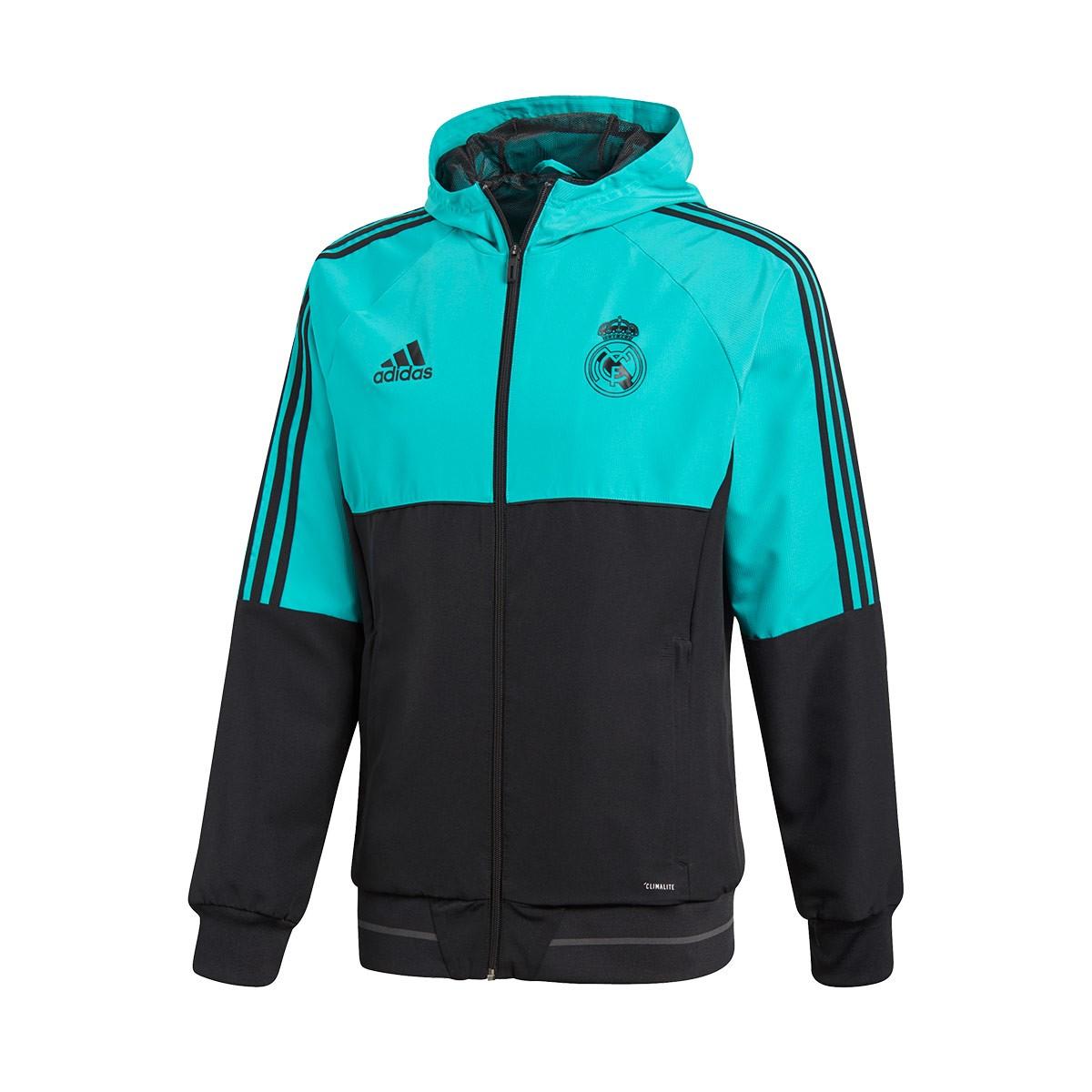 483b4ea8c4950 Chaqueta adidas Pre Match Real Madrid 2017-2018 Aero reef - Tienda de  fútbol Fútbol Emotion