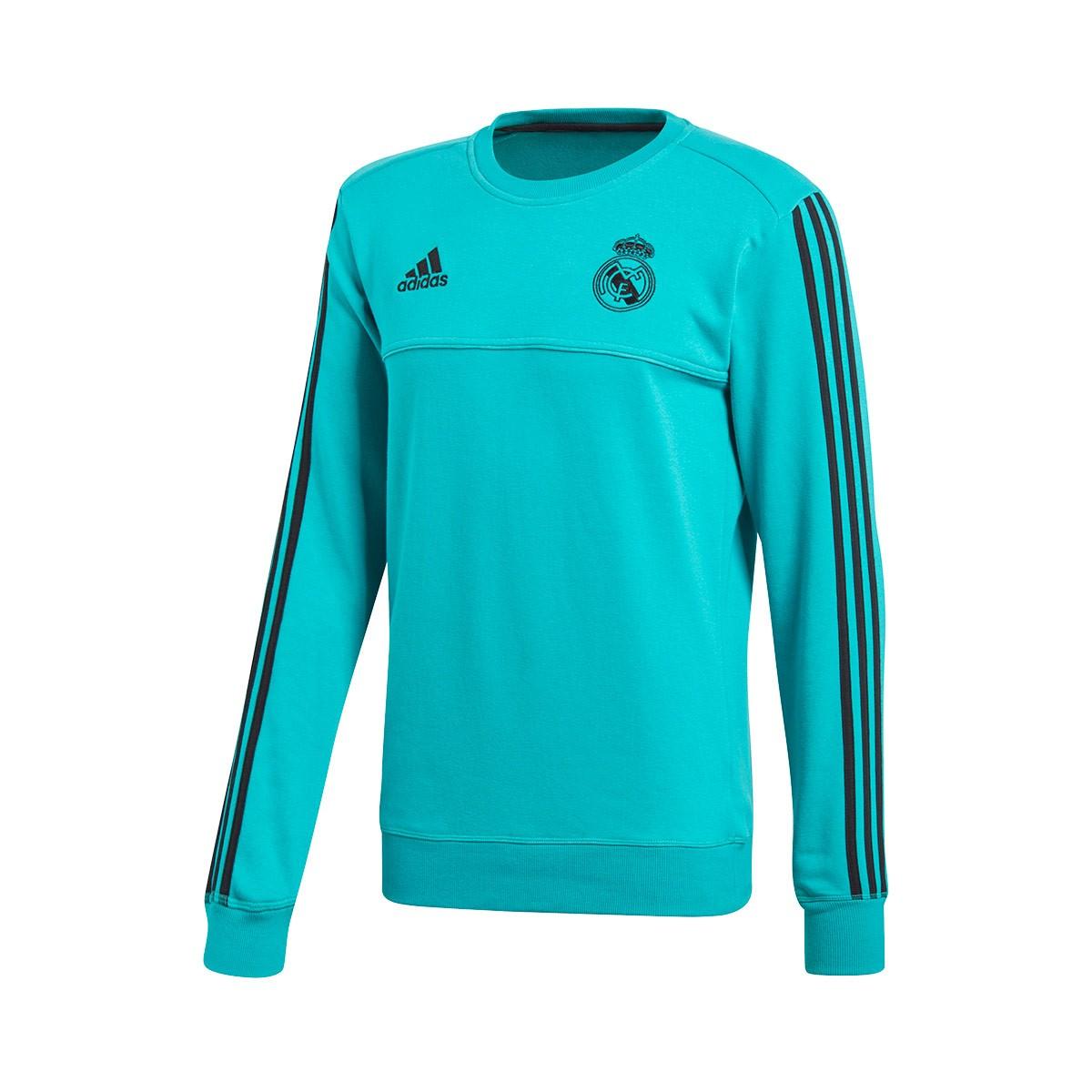 Sudadera adidas Real Madrid Top 2017-2018 Aero reef - Soloporteros es ahora  Fútbol Emotion 2b7da4ab7381f