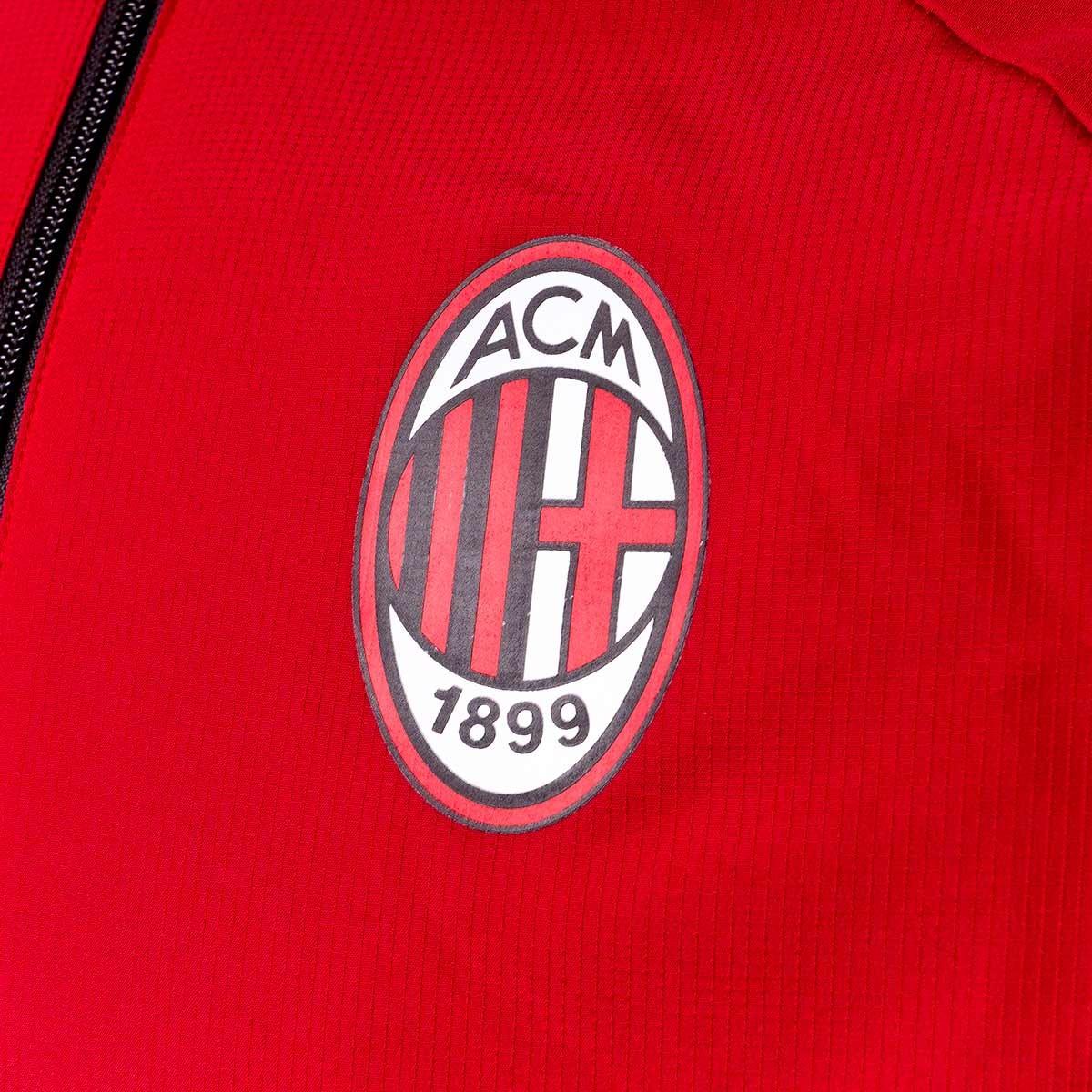 8b13a2902da0a Chaqueta adidas AC Milán Pre-Match 2017-2018 Victory red-Black - Tienda de fútbol  Fútbol Emotion