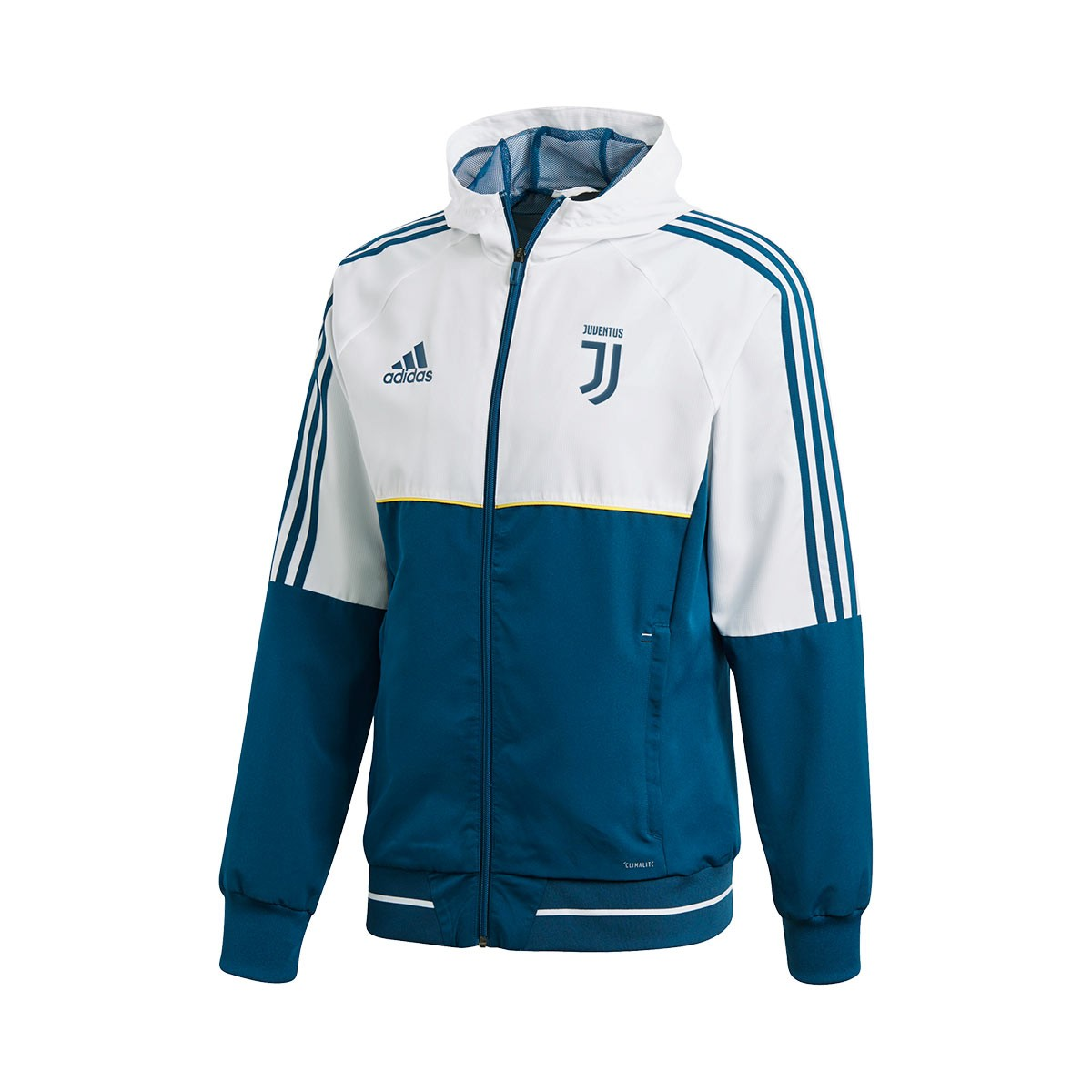 Juventus Blue Adidas 2018 Chaqueta Pre Bold 2017 Night Match White qFw5YH