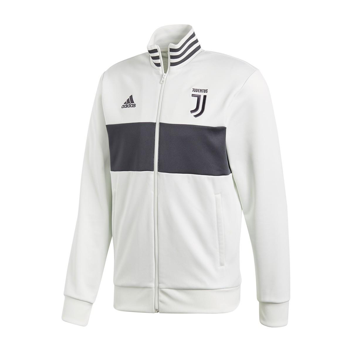 a26d15ce4b2 Jacket adidas Juventus 3S Top 2017-2018 White-Carbon - Football ...