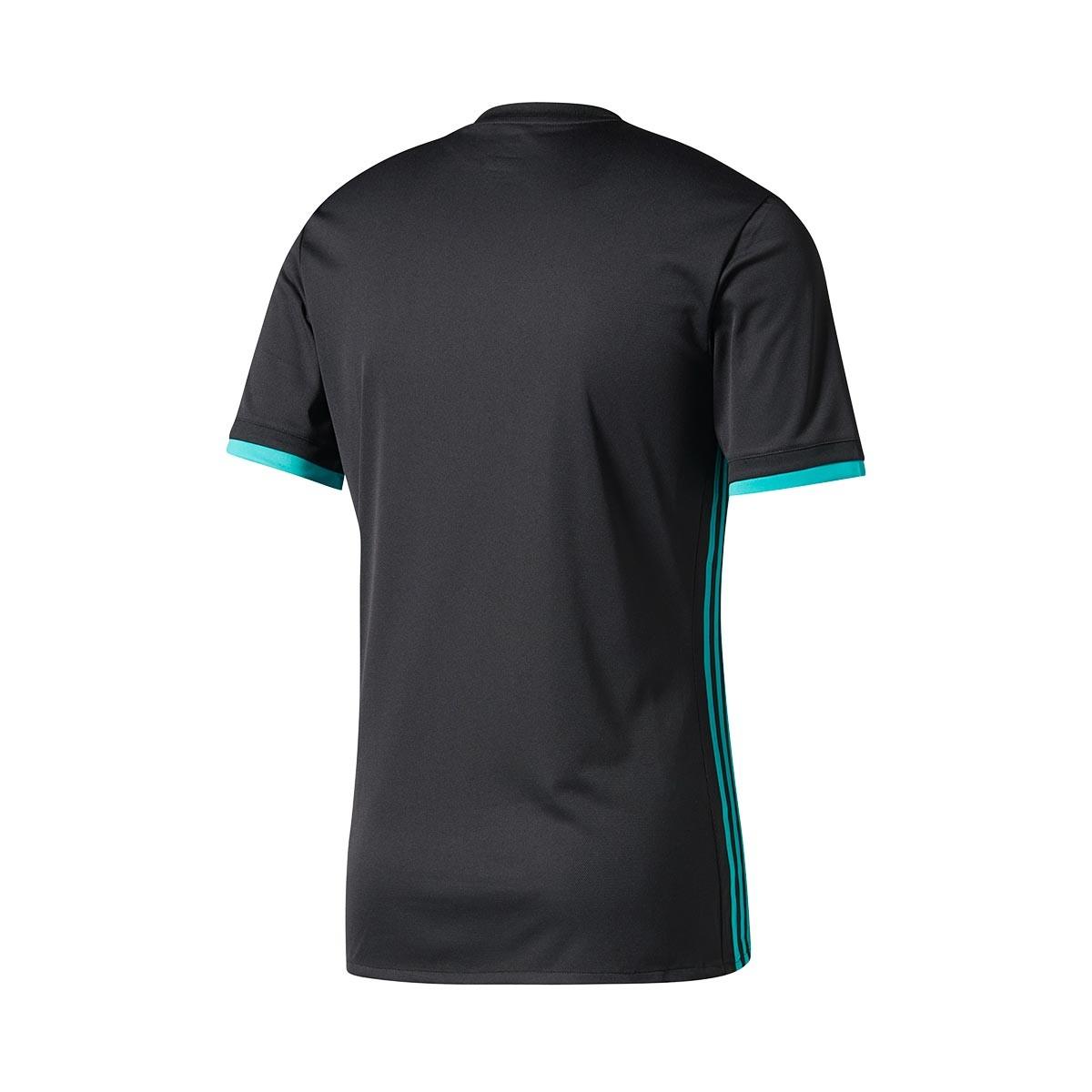 ... Camiseta Real Madrid Segunda Equipación 2017-2018 Black-Aero reef.  CATEGORÍA d5ebf0f4eea2e