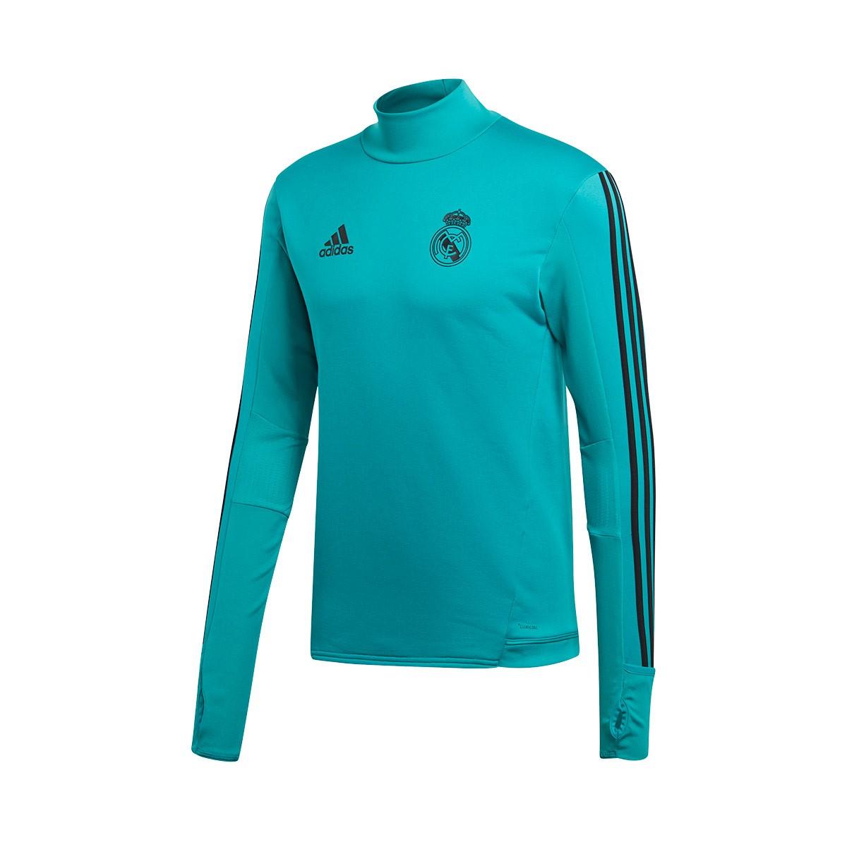 new arrival 9dab8 42a4a Camiseta Real Madrid Training Top 2017-2018 Aero reef-Black