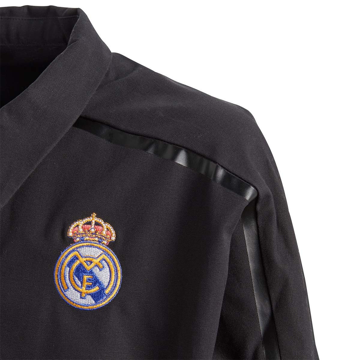 f1c22e978d96a Jacket adidas Kids Real Madrid ZNE JKT WV 2017-2018 Black - Tienda de  fútbol Fútbol Emotion