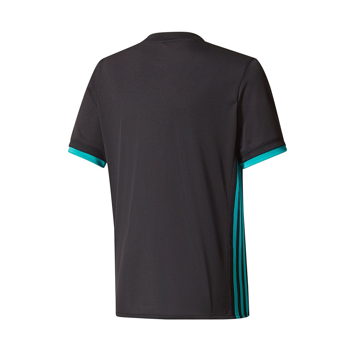... Camiseta Real Madrid Segunda Equipación 2017-2018 Niño Black-Aero reef.  CATEGORY d6508d25922a8