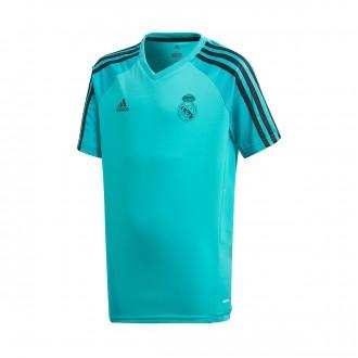 Camiseta  adidas Real Madrid Training 2017-2018 Niño Aero reef