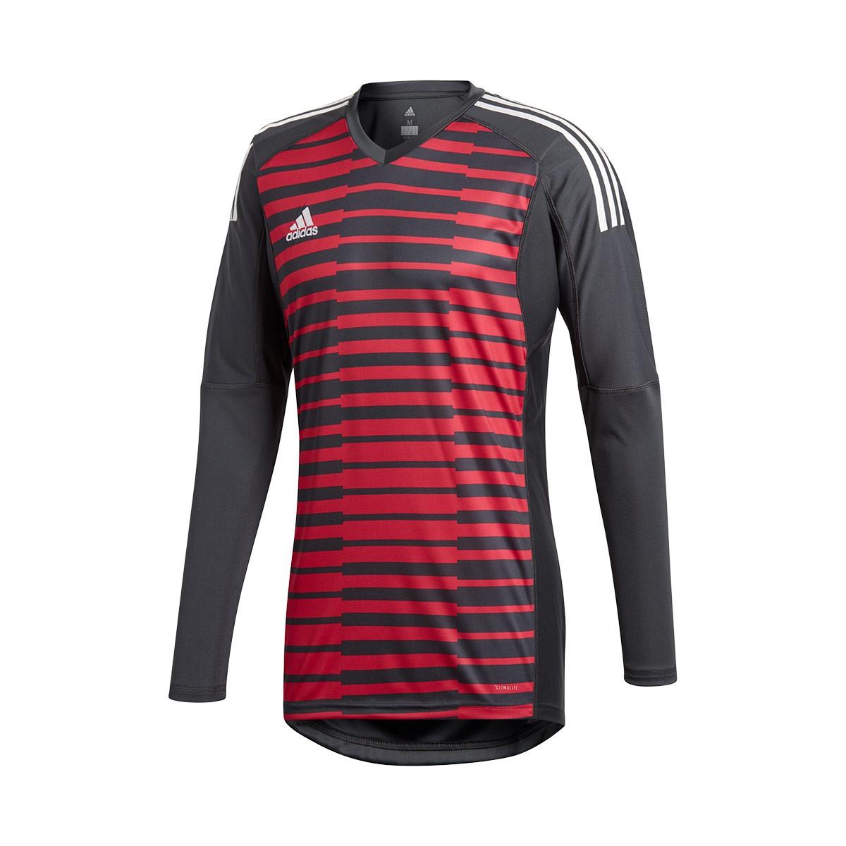d9d41ef443a Jersey adidas AdiPro 18 Goalkeeper Longsleeve Dark grey-Unity pink-White -  Football store Fútbol Emotion