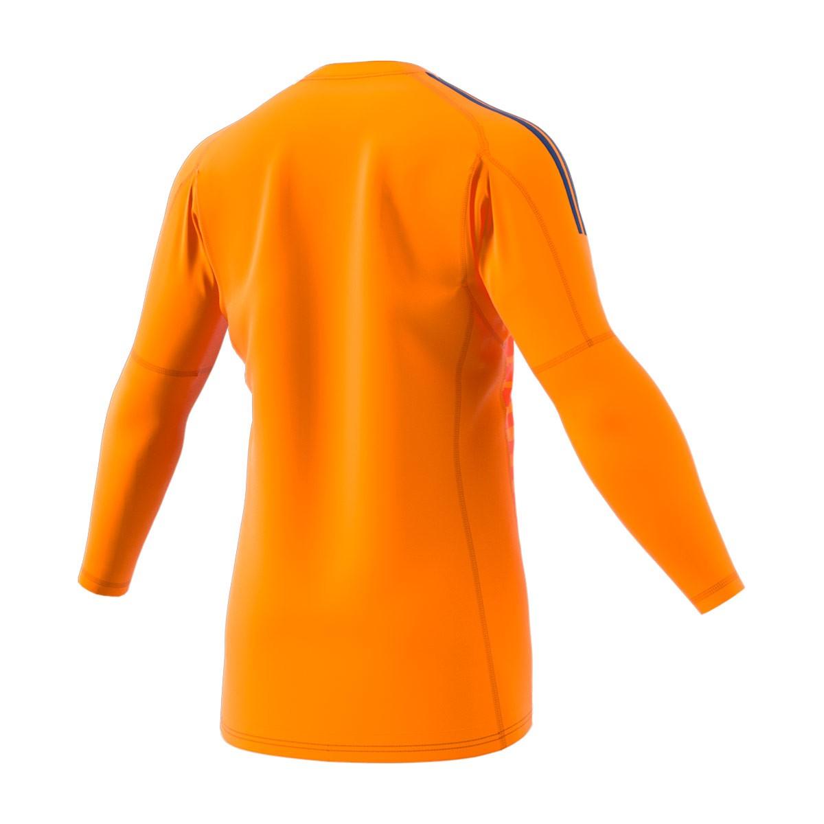 Jersey adidas AdiPro 18 Goalkeeper Longsleeve Orange-Unity ink ... c08f89887