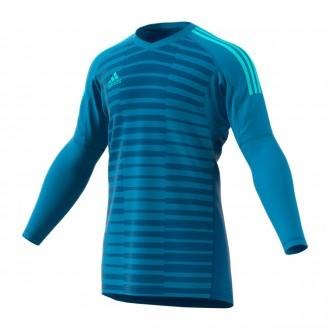 Camisola  adidas AdiPro 18 Goalkeeper Longsleeve Bold aqua-Unity blue-Energy aqua