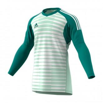 Camisola  adidas AdiPro 18 Goalkeeper Longsleeve Aero green-White