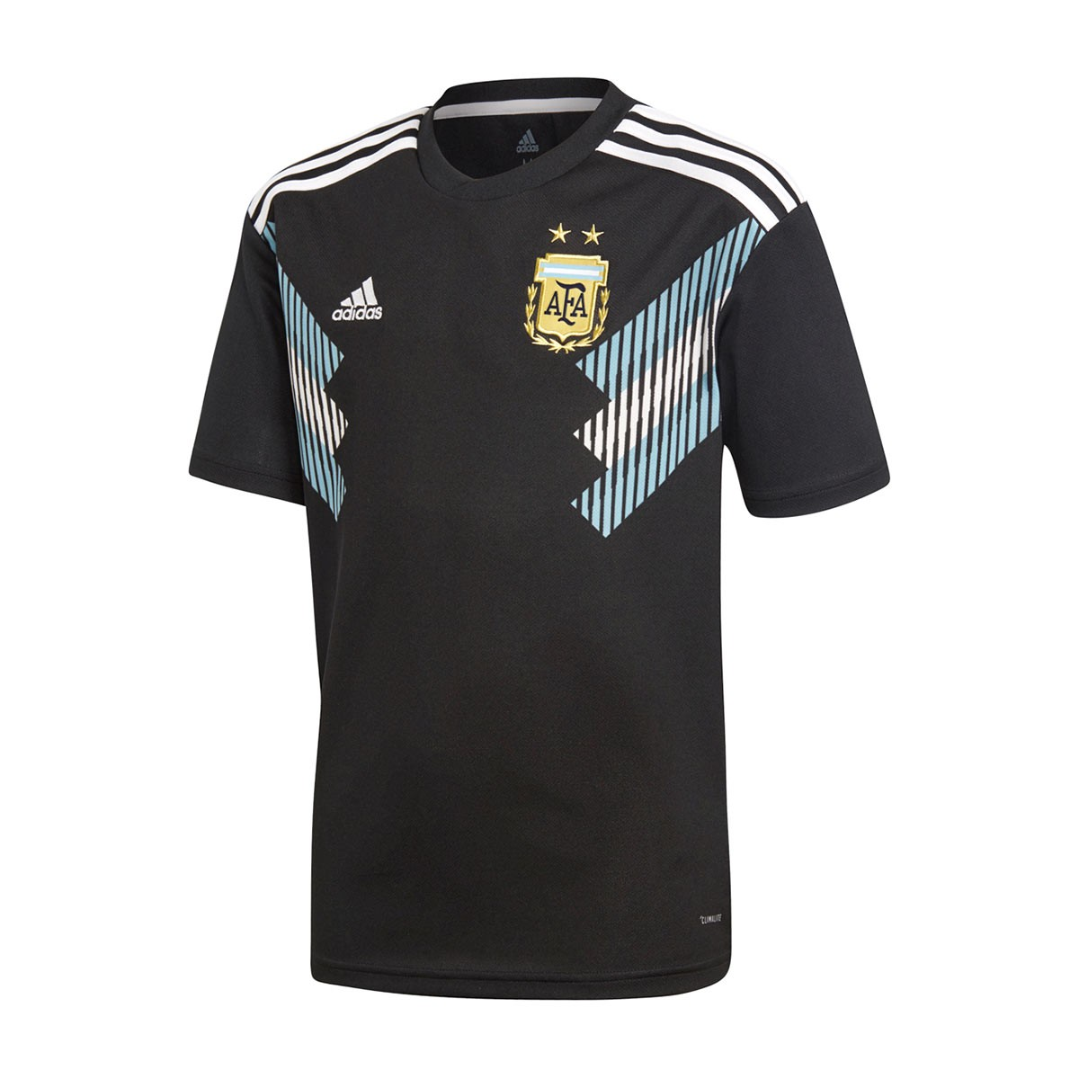 49f6642eedf Jersey adidas Kids Argentina 2017-2018 Away Black-Clear blue-White ...