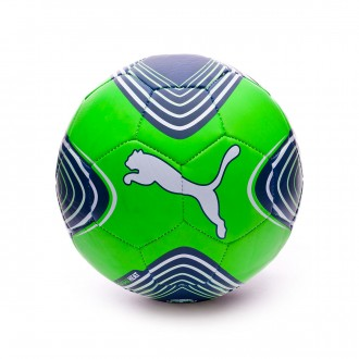 Bola de Futebol  Puma Future Heat Green gecko-Puma white-Deep lagoon