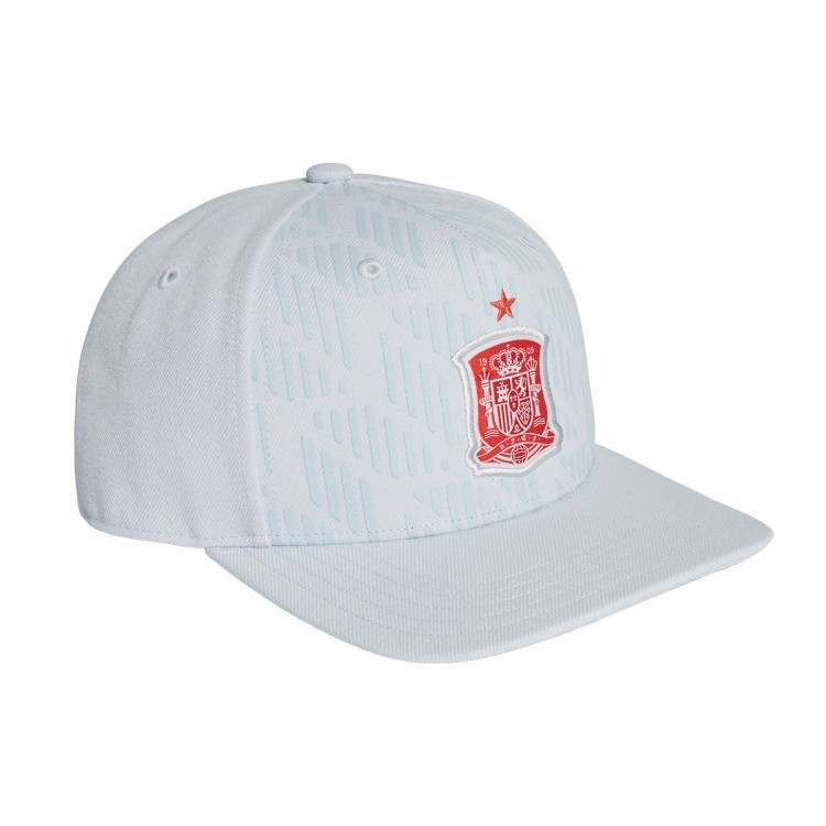 Cap adidas Spain Visitor 2017-2018 Halo blue-Bright red ... c02677d3286