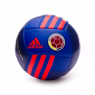 Balón  adidas Colombia 2017-2018 Bold blue-Solar red