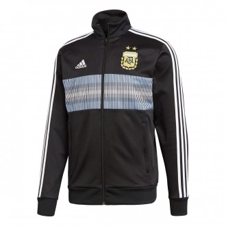 Jacket  adidas Argentina 3S Track Top 2017-2018 Black-White