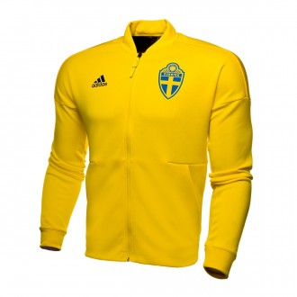 Jacket  adidas Sweden ZNE Kn 2017-2018 Yellow