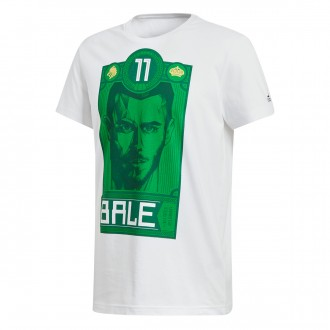 Jersey  adidas Bale Graphic White