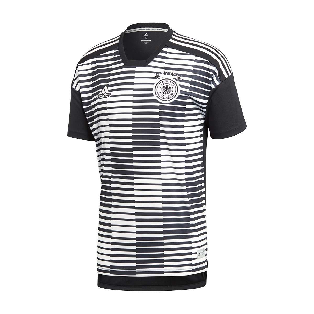 2018 Match Black Pre Camiseta 2017 Adidas White Alemania wqXOxPg