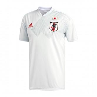 Camiseta  adidas Japón Segunda Equipación 2017-2018 Clear Grey-White