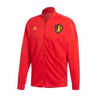Jacket  adidas Belgium ZNE KN 2017-2018 Vivid red