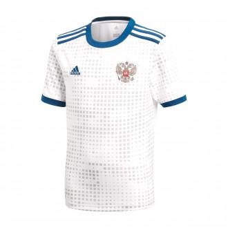 Camisola  adidas Rússia Equipamento Secundário 2017-2018 White