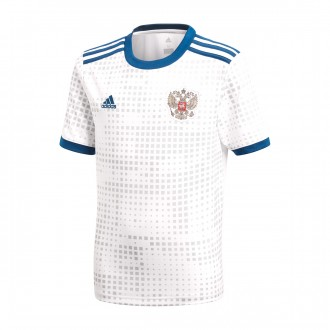 Maillot  adidas Russie Tenue Extérieure 2017-2018 White