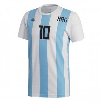 camiseta messi argentina niño