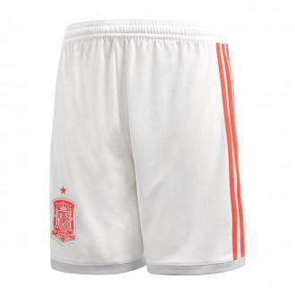 Shorts adidas Kids Spain 2017-2018 Away White