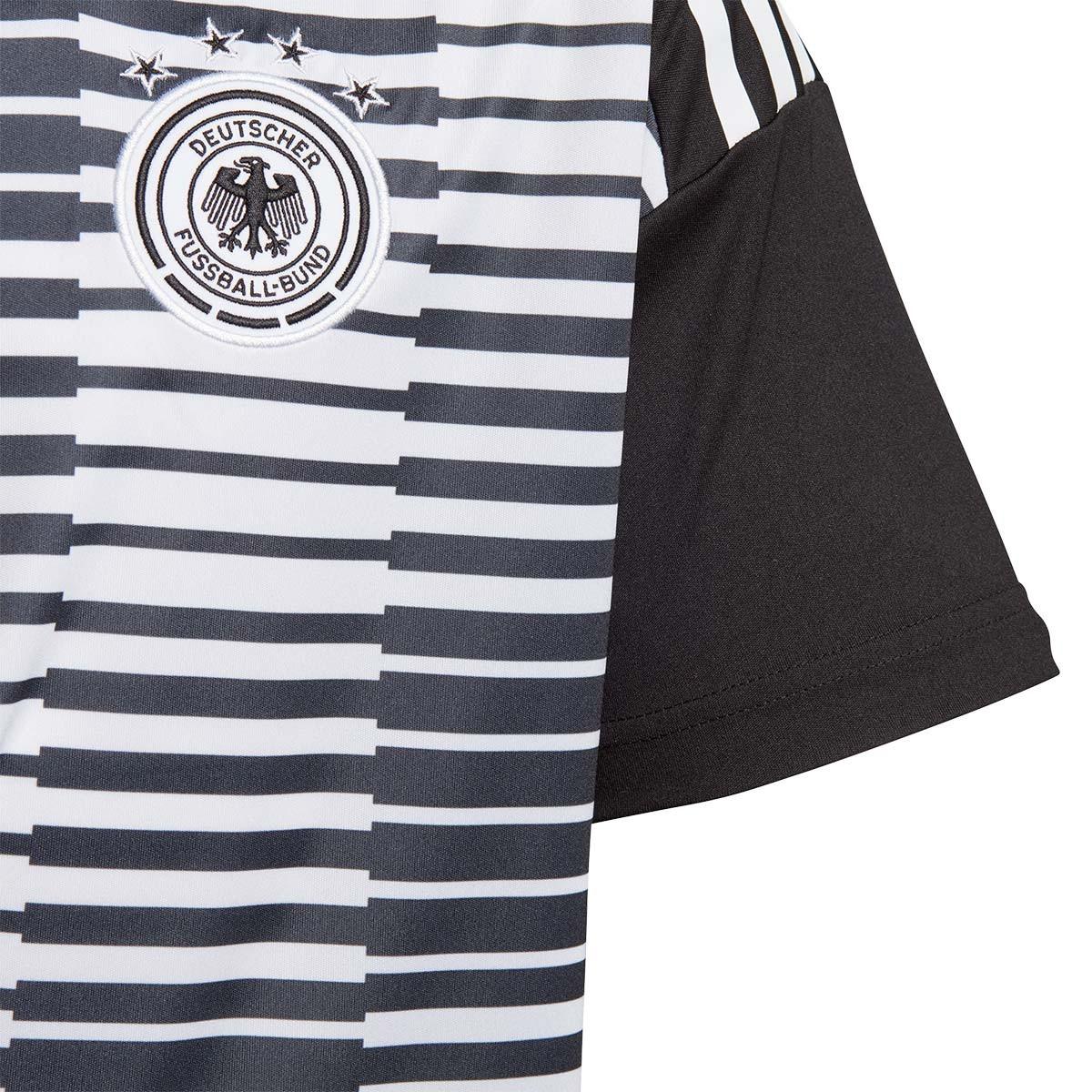 687b15daec1 Jersey adidas Kids Germany Pre-Match 2017-2018 White-Black - Football store  Fútbol Emotion