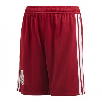 Pantaloncini adidas Messico Away 2017-2018 Junior Collegiate burgundy-White
