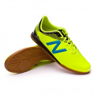 Chaussure de futsal  New Balance Furon Dispatch Indoor Jaune Fluor-Bleu