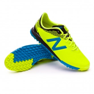 Chaussure de football  New Balance Furon Dispatch Turf Amarillo Fluor-Bleu