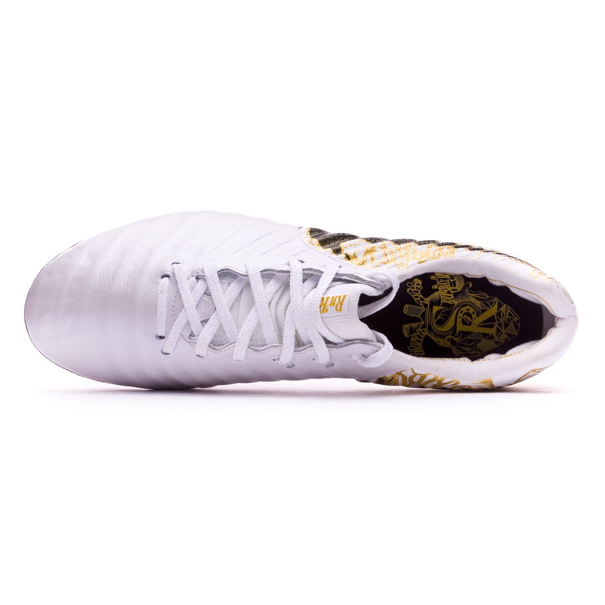 a80d95342cee Football Boots Nike Tiempo Legend VII SR4 FG White-Vivid gold - Football  store Fútbol Emotion