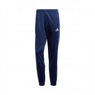 Pantaloni lunghi  adidas Core 18 Polyester Dark blue-White