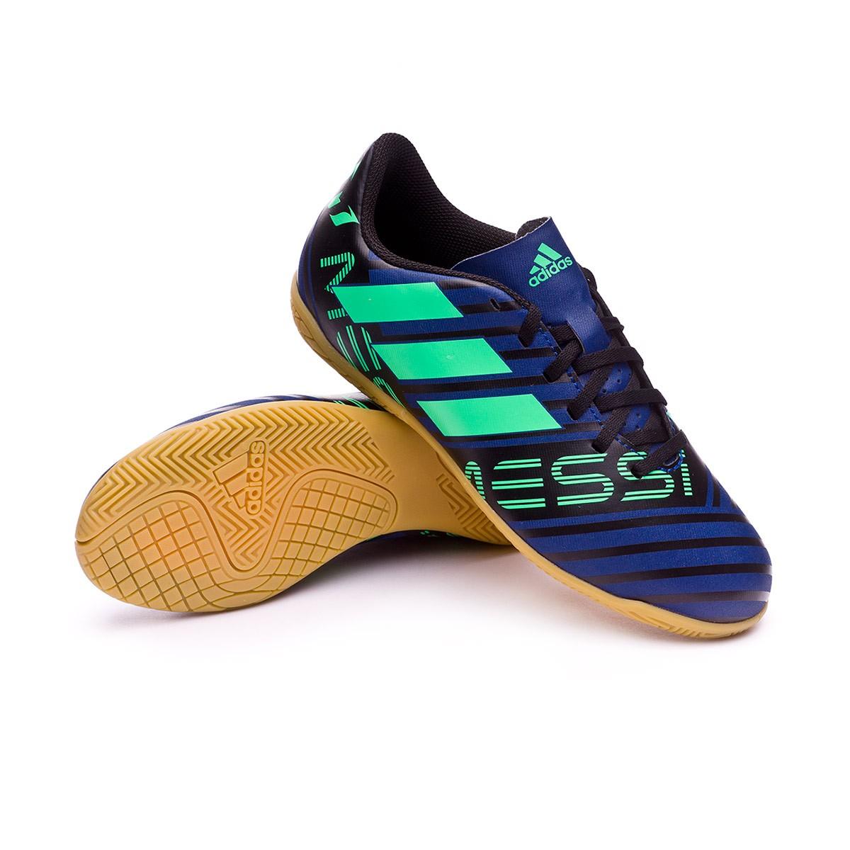 00bcb23c86b30 Zapatilla adidas Nemeziz Messi Tango 17.4 IN Niño Unity ink-Hi-res  green-Core black - Tienda de fútbol Fútbol Emotion
