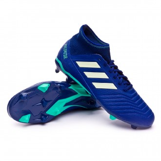 Chaussure de football  adidas Predator 18.3 FG Unity ink-Aero green-Hi-res green