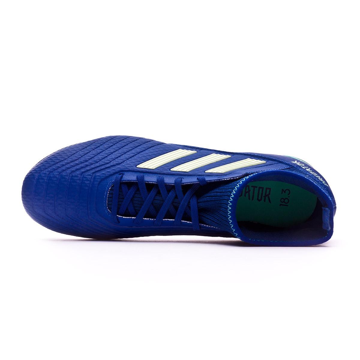 94d31d1f5 Football Boots adidas Predator 18.3 FG Unity ink-Aero green-Hi-res green - Football  store Fútbol Emotion