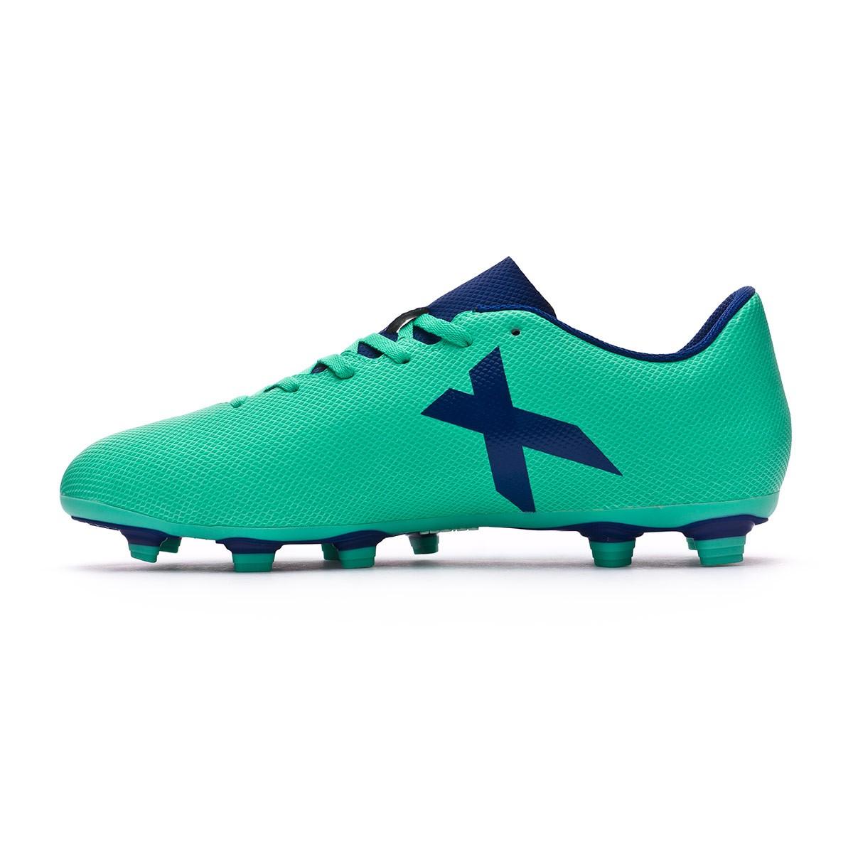 de97d7cd48026 Chuteira adidas X 17.4 FxG Aero green-Unity ink-Hi-res green - Loja de  futebol Fútbol Emotion