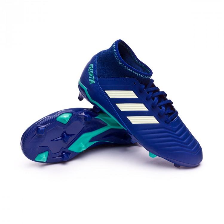 56512671f Football Boots adidas Kids Predator 18.3 FG Unity ink-Aero green-Hi ...