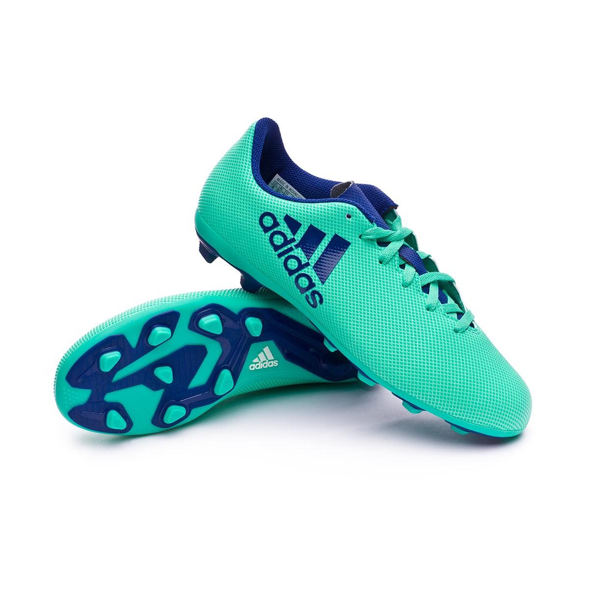 Boot adidas Kids X 17.4 FxG Aero green-Unity ink-Hi-res green ... ae958a88f